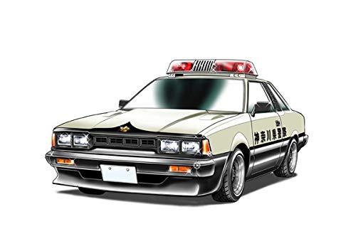Fujimi Yoroshiku Mechadoc Nissan Silvia HT RS(S110) Express Way Patrol (Toru Nachi) 1/24 scale kit