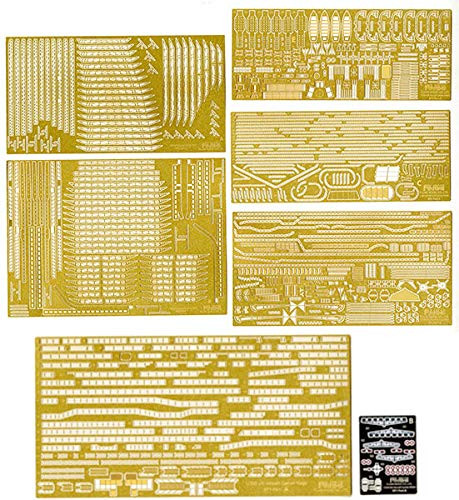 Fujimi 11EX-1 IJN Aircraft Carrier Kaga Photo-Etched Parts Set 1/350 Scale