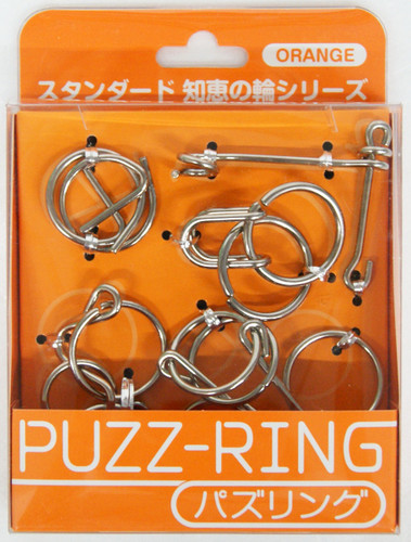 Hanayama Puzzle Puzz Ring ORANGE