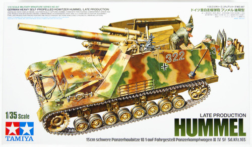 Tamiya 35367 German Heavy Self-Propelled Howitzer Hummel Late Prod. 1/35 kit