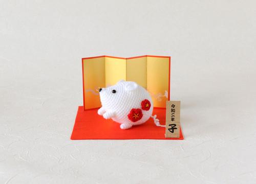 Hamanaka H301-531 Crochet Doll Kit Fat Mouse
