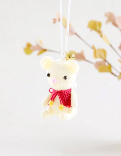 Hamanaka  H301-536 Crochet Doll Kit Happy Mouse