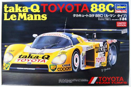 Hasegawa 20416 Taka-Q Toyota 88C (Le Mans Type) 1/24 Scale Kit