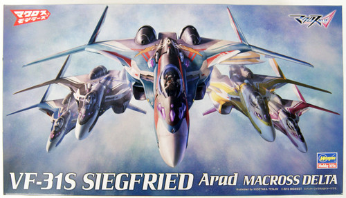 Hasegawa 65861 VF-31S Siegfried Arad Use Macross Delta 1/72 Scale Kit