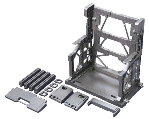Bandai Builders Parts Gundam System Base 001 (Gunmetal) 1/144 Scale Kit