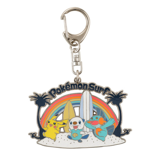 Pokemon Center Original Pokemon Surf Keyholder Rainbow