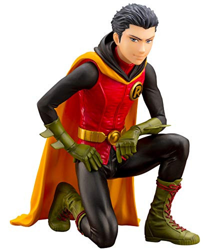 Kotobukiya DC033 DC Comics IKEMEN Damian Wayne Robin 1/7 Scale Figure (First Production Bonus Ver.)