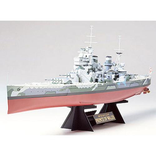Tamiya 78011 British Battleship Prince of Wales 1/350 Scale Kit