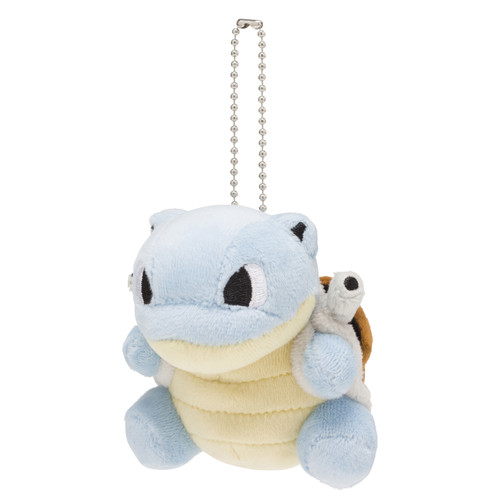 Pokemon Center Original Mocchiri Mascot Pokemon Dolls Blastoise (Kamex)