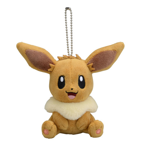 Pokemon Center Original Mascot Sitting Eevee