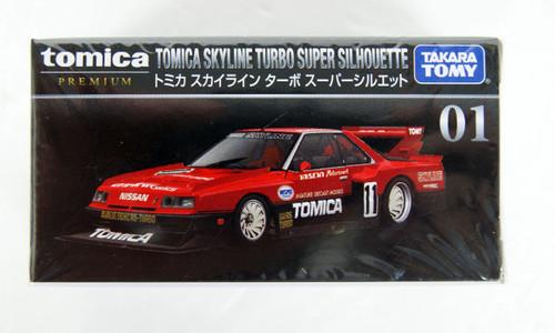 Takara Tomy Tomica Premium 01 Tomica Skyline Turbo Super Silhouette 123767