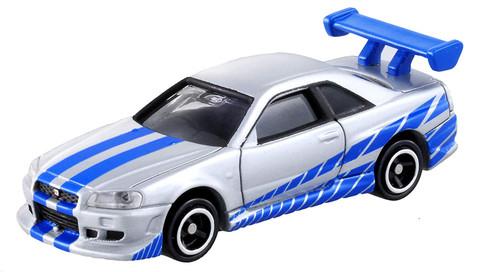 Takara Tomy Dream Tomica No.150 Fast & Furious BNR34 Skyline GT-R 595878