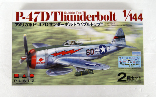 Platz PDR-3 P-47D Thunderbolt Bubble Top 1/144 Scale Kit