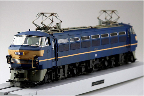 Aoshima 54086 Train Museum OJ Series #05 Electric Locomotive EF66 Early Type 1/45