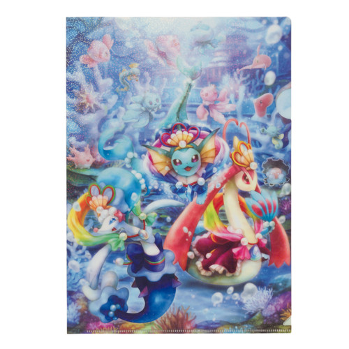 Pokemon Center Original A4 Clear File Oceanic Operetta