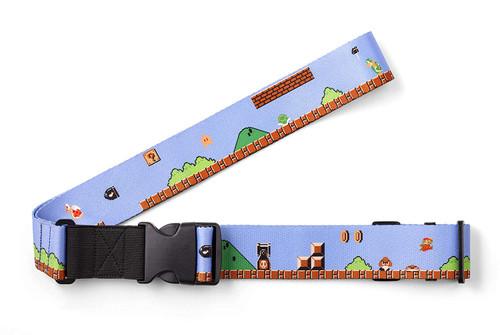 Nintendo Super Mario Travel Luggage Strap (Ground Level)