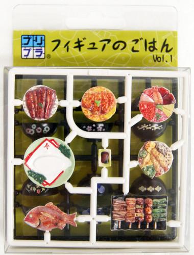 MIC Dinner Set Vol.1  1/12 Scale Model Kit
