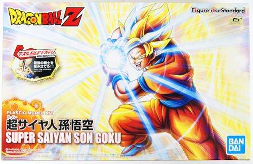 Bandai Figure-Rise Standard Dragon Ball Super Saiyan Son Goku (Renewal) Plastic Model Kit
