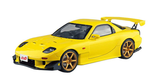 Aoshima 56226 Initial D: Keisuke Takahashi FD3S RX-7 Project D Vol.28 Ver. Pre-Painted 1/24 Scale  Kit