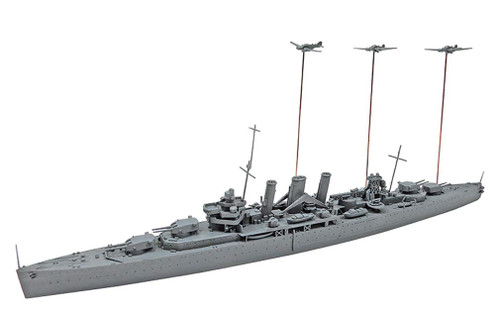 Aoshima Waterline 56714 HMS Kent Attack on Benghazi 1/700 Scale Kit
