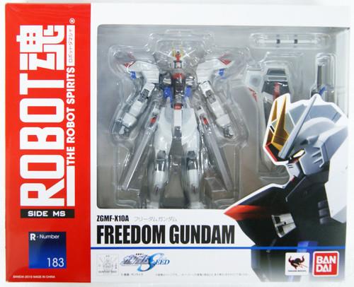 Bandai Robot Spirits Gundam Seed (SIDE MS) Freedom Gundam Figure