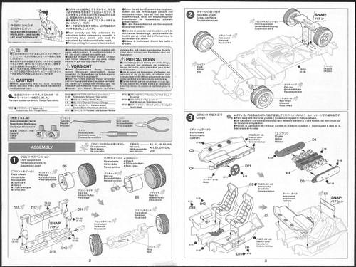 Tamiya 25419 Lamborghini Countach LP500S (Clear Coat Red Body) 1/24 scale kit