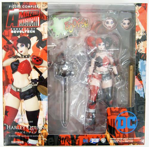 Kaiyodo Amazing Yamaguchi 015 Harley Quinn Figure