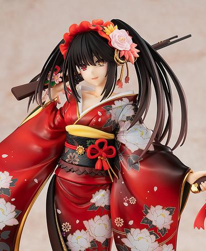 Kadokawa Date A Live Light Novel: Kurumi Tokisaki - Alluring Kimono Ver. 1/7 Scale Figure (Date A Live)