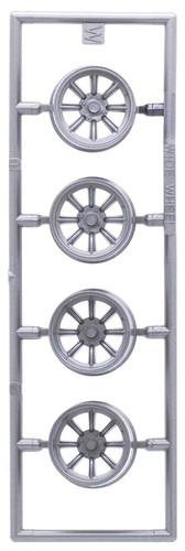 Fujimi 193571 W-16 1/24 Scale Racing Hart 15 inch Wheel