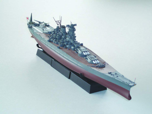 Fujimi FH1EX-1 IJN Super Dreadnoughts Yamato Full-Hull Model Sp.Ver (w/Photo-Etching & Name Plate) 1/700 Scale Kit