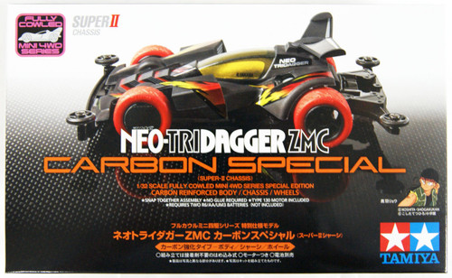 Tamiya 95508 Mini 4WD Neo-Tridagger ZMC Carbon Special (Super-II Chassis) 1/32