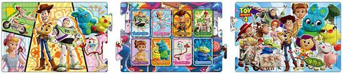 Apollo-sha Jigsaw Puzzle 24-142 Disney Toy Story 4 Panorama (10+15+20 Pieces)