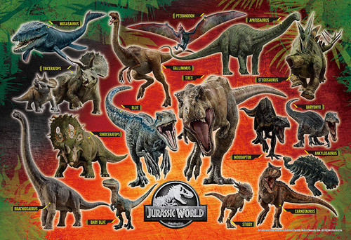 Epoch Jigsaw Puzzle 26-327s Jurassic World Discover Jurassic World (300 Pieces)