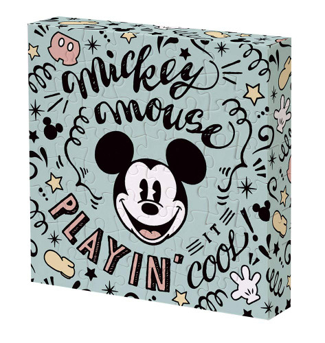 Yanoman Jigsaw Puzzle 2303-06 Disney Mickey Mouse Payin Cool (56 Pieces)