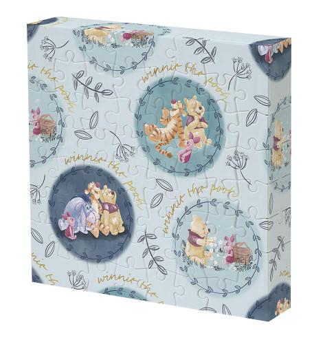 Yanoman Jigsaw Puzzle 2303-08 Disney Winnie the Pooh (56 Pieces)