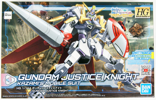 Bandai HG Gundam Build Divers Re:RISE 04 Gundam Justice Knight 1/144 Scale Kit