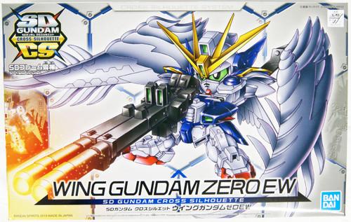 Bandai SD Gundam Cross Silhouette 13 Wing Gundam ZERO EW Non-scale