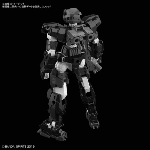 Bandai 30 Minutes Missions 13 (30MM) eEMX-17 ALTO (Black) 1/144 Scale Kit