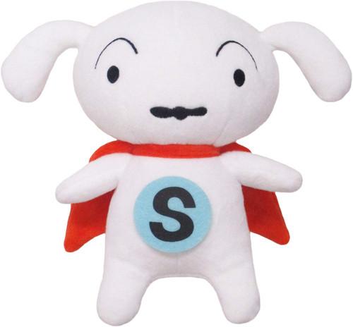 San-ei Crayon Shin-chan Plush Toy Super Shiro (S)