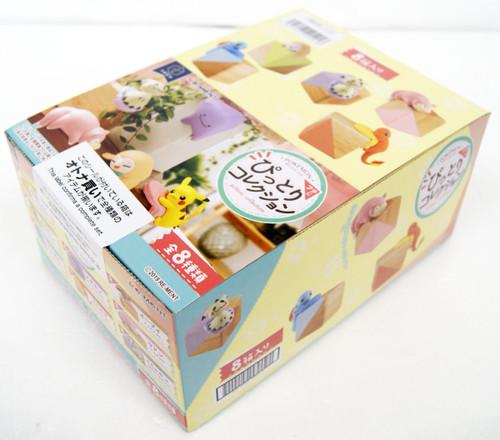Re-ment FuchiPito Fuchi ni Pittori Collection 1 BOX 8 Pcs Complete Set