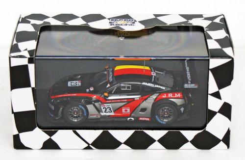 Ebbro 44713 Nissan GT-R GT1 2011 JRM Racing #23 (Black) 1/43 Scale