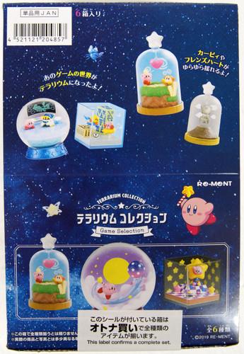 Re-ment Kirby Terrarium Collection -Game Selection- 1 BOX 6 Pcs Set