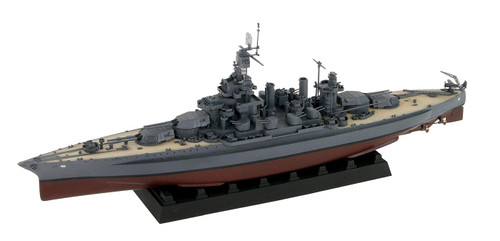 Pit-Road Skywave W199SP USN Battleship BB-46 Maryland 1945 w/Flag & Name Plate, Brass Barrel 1/700 Scale Kit