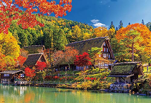 Beverly Jigsaw Puzzle 51-256 Autumn Leaves in Hida Japan (1000 Pieces)