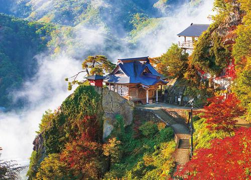 Beverly Jigsaw Puzzle 66-132 Autumn in Risshakuji Temple (Yamadera) Yamagata (600 Pieces)