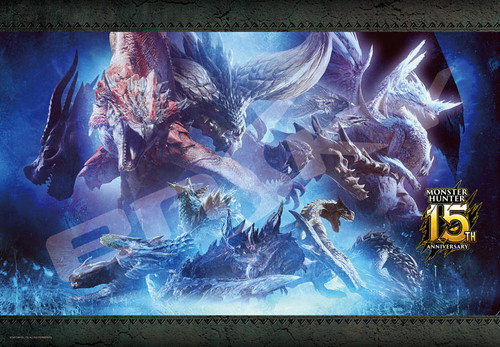 Ensky Jigsaw Puzzle 1000T-137 Monster Hunter 15th Anniversary (1000 Pieces)