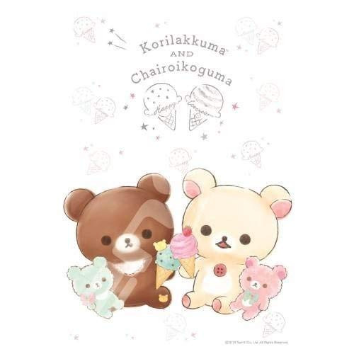 Ensky Jigsaw Puzzle 300-1558 Rilakkuma Happy Ice Cream (300 Pieces)