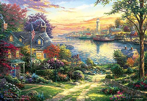 Beverly Jigsaw Puzzle M81-579 Thomas Kinkade New England Harbor (1000 S-Pieces)