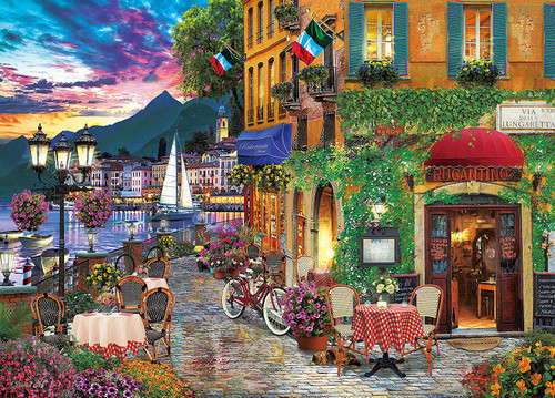 Epoch Jigsaw Puzzle 54-212 Italian Fascino David Mclean (2000 S-Pieces)