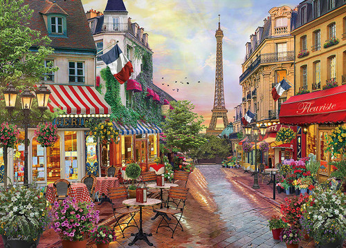 Epoch Jigsaw Puzzle 54-213 Parisian Charm Paris David Mclean (2000 S-Pieces)